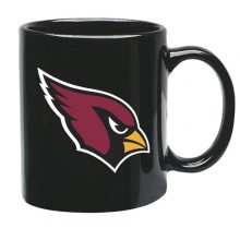 Arizona Cardinals 15 oz Black Ceramic Coffee Cup
