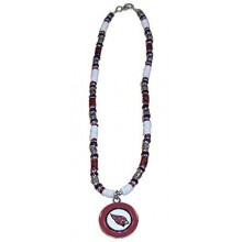 Arizona Cardinals Shell Necklace, 18-Inch, White