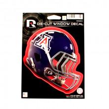 """Arizona Wildcats 6"""" Helmet Die-Cut Window Decal"""
