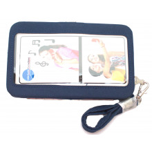 MLB  Atlanta Braves Distressed Wallet Wristlet Case