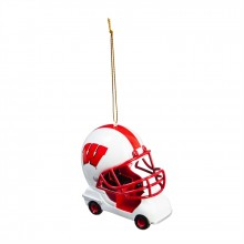 Wisconsin Badgers  Field Car Ornament