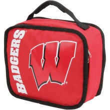NCAA Wisconsin Badgers Sacked Insulated Lunch Cooler Bag