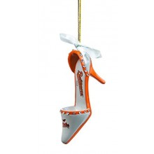 Baltimore Orioles Team High Heel Shoe Ornament