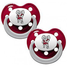 Alabama Crimson Tide Baby Fanatics 2 Pack Pacifiers