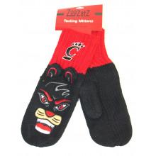 Cincinnati Bearcats Knit Mascot Texting Mittens