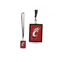 Cincinnati Bearcats Beaded Lanyard I.D. Wallet