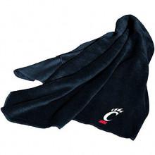 Cincinnati Bearcats Embroidered Fleece Throw Blanket