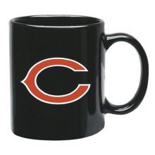 Chicago Bears 15 oz Black Ceramic Coffee Cup