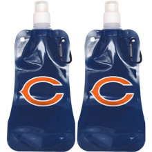 Chicago Bears 16oz Foldable Water Bottle