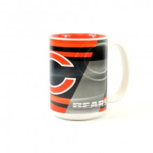 Chicago Bears 15oz Shadow Ceramic Mug