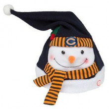 Chicago Bears Animated Snowman Hat