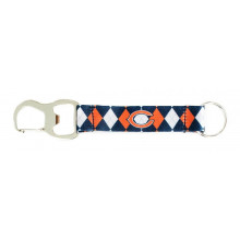 Chicago Bears Argyle Carabiner Lanyard Key Chain