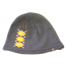 Chicago Bears Argyle Pattern Navy Beanie