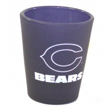 Chicago Bears Frosted 2 oz Shot Glass