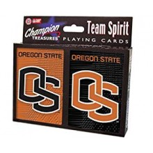 Oregon State Beavers 2 Packs of Playing Cards