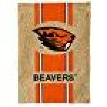 "Oregon State Beavers 12.5"" X 18"" Burlap Garden Flag"