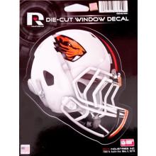 """Oregon State Beavers 5"""" x 6"""" Helmet Die-Cut Window Decal"""