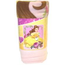 """Disney Princess Belle Bontanical Light Weight Fleece Throw 50"""" x 60"""""""