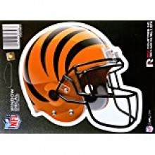 "Cincinnati Bengals 6"" Helmet Die-Cut Window Decal"