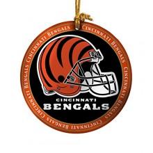 Cincinnati Bengals Ceramic Mini Plate Ornament