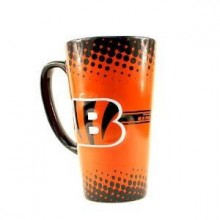 Cincinnati Bengals 16-ounce Sculpted Latte Mug