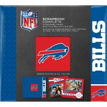 "Buffalo Bills 8"" X 8"" Complete Scrapbook"