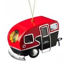 Chicago Blackhawks 3-D Tin Camper Ornament