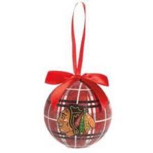 Chicago Blackhawks 100 MM LED Ball Ornament