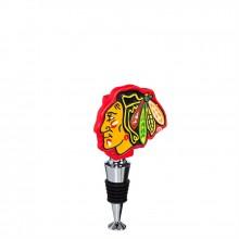Chicago Blackhawks  Logo Bottle Stopper