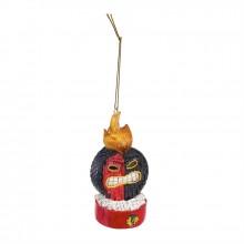 Chicago Blackhawks Light Up Tiki Ornament