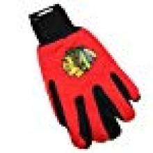 Chicago Blackhawks Team Color Utility Gloves