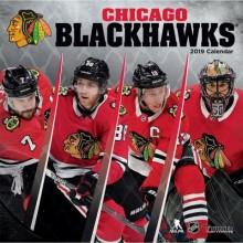 Chicago Blackhawks 12 x 12 Wall Calendar 2019