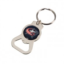 Columbus Blue Jackets Bottle Opener Keychain