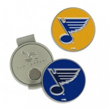 NHL St. Louis Blues Hat Clip and Magnetic Ball Marker 2 Pack