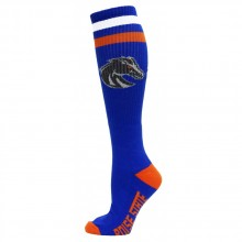 Boise State Broncos Tube Socks Blue