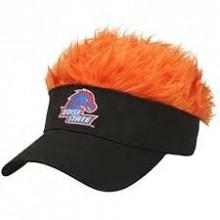 Boise State Broncos Flair Hair Adjustable Visor