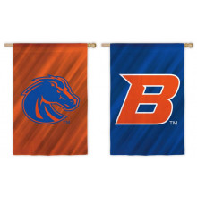 "Boise State Broncos Double Sided Sub Suede Flag 29"" X 43"""
