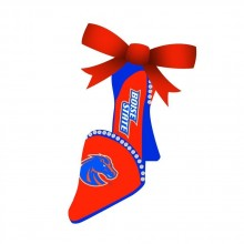 Boise State Broncos High Heeled Shoe Ornament