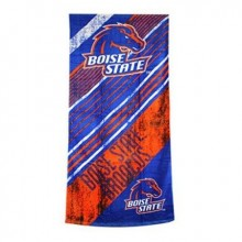 "Boise State Broncos 28"" x 58"" Striped Logo  Beach Towel"
