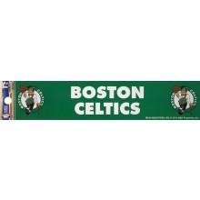 """Boston Celtics 2"""" X 10"""" Bumper Sticker"""