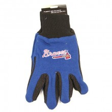 MLB  Atlanta Braves Team Color Utility Gloves