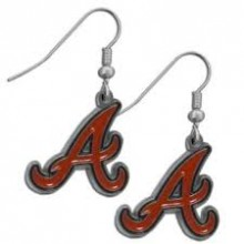 Atlanta Braves Logo Dangle Earrings