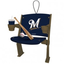 Milwaukee Brewers Team Stadium Chair Ornament