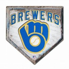 Milwaukee Brewers Home Plate Mouse Pad
