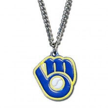 Milwaukee Brewers Logo Chain Necklace