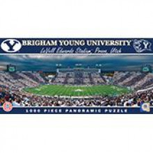 Brigham Young Cougars  1000 pc. Panoramic Puzzle