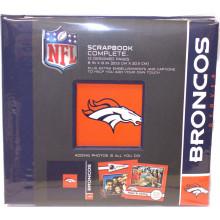 "Denver Broncos 8"" X 8"" Complete Scrapbook"