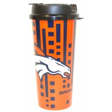 Denver Broncos 16-ounce Insulated Travel Mug