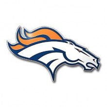 "Denver Broncos 3"" Color Automotive Emblem"