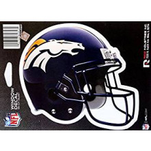 "Denver Broncos 6"" Helmet Die-Cut Window Decal"